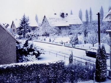 Zima v tomto roce byla opět poměrně mrazivá zdroj  chmi.cz a štědrá na  sněhovou nadílku pohlednice z jarních prázdnin roku 1987 od Petra Slavíka a  Vaška ... b25119357c